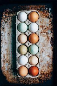 eieren thuis
