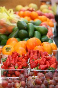 verse groente uit eigen tuin